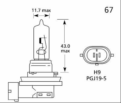 lampe h9