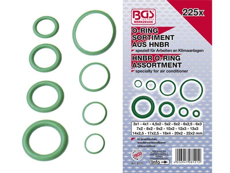 hnbr o ring sortiment 3 22 mm 225 tlg f r. Black Bedroom Furniture Sets. Home Design Ideas
